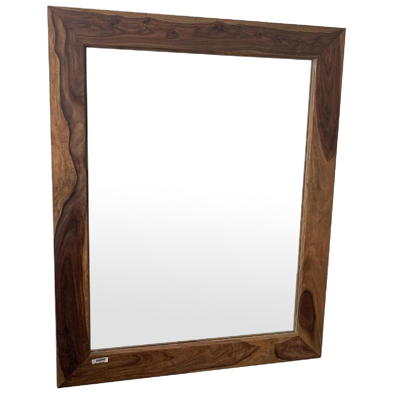 Exotik Mobilier Rosewood Mirror - image-0
