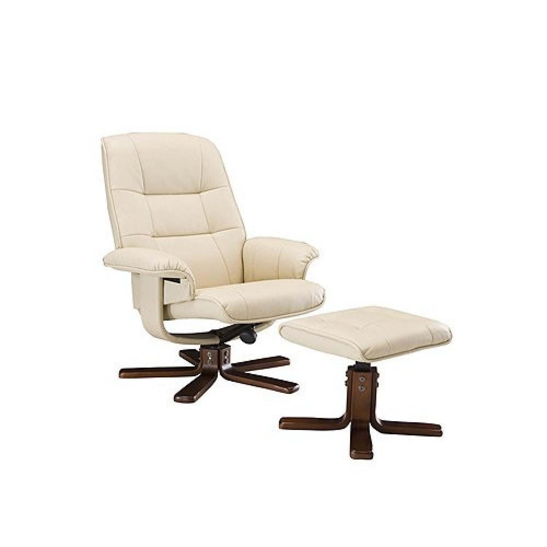 Raymour & Flanigan Carter Reclining Chair & Ottoman