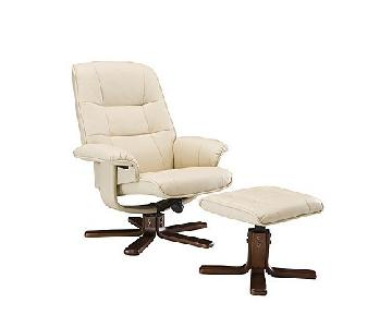 Raymour & Flanigan Carter Reclining Chair & Ottoman