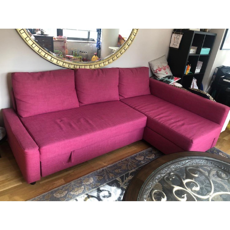Ikea Friheten Sleeper Sectional Sofa w/ Storage - image-1