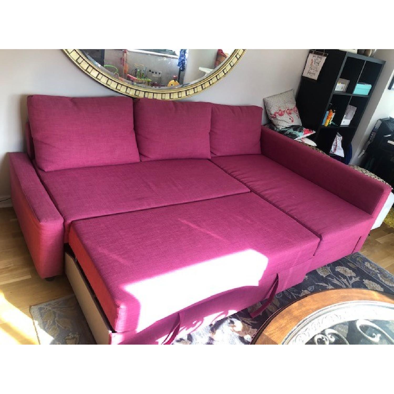Ikea Friheten Sleeper Sectional Sofa w/ Storage - image-3
