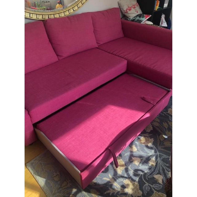 Ikea Friheten Sleeper Sectional Sofa w/ Storage - image-5
