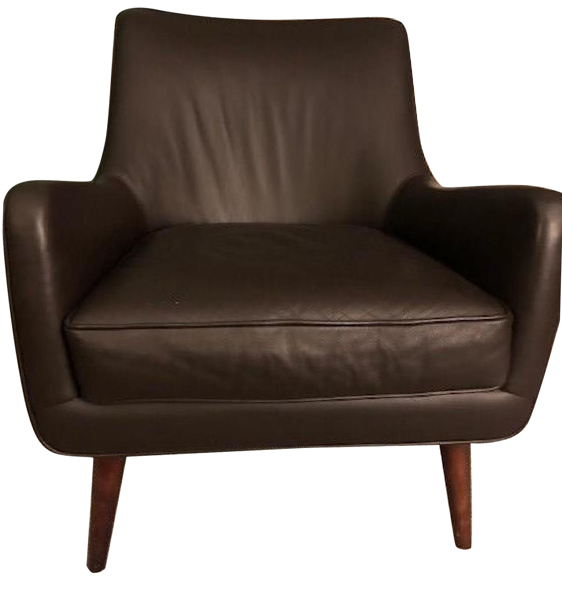 Room & Board Brown Leather Chairs