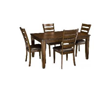 Raymour & Flanigan Kona 5-Piece Dining Set
