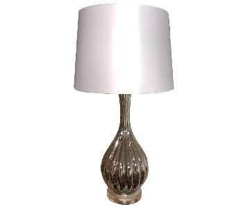 4D Concepts White Table Lamp