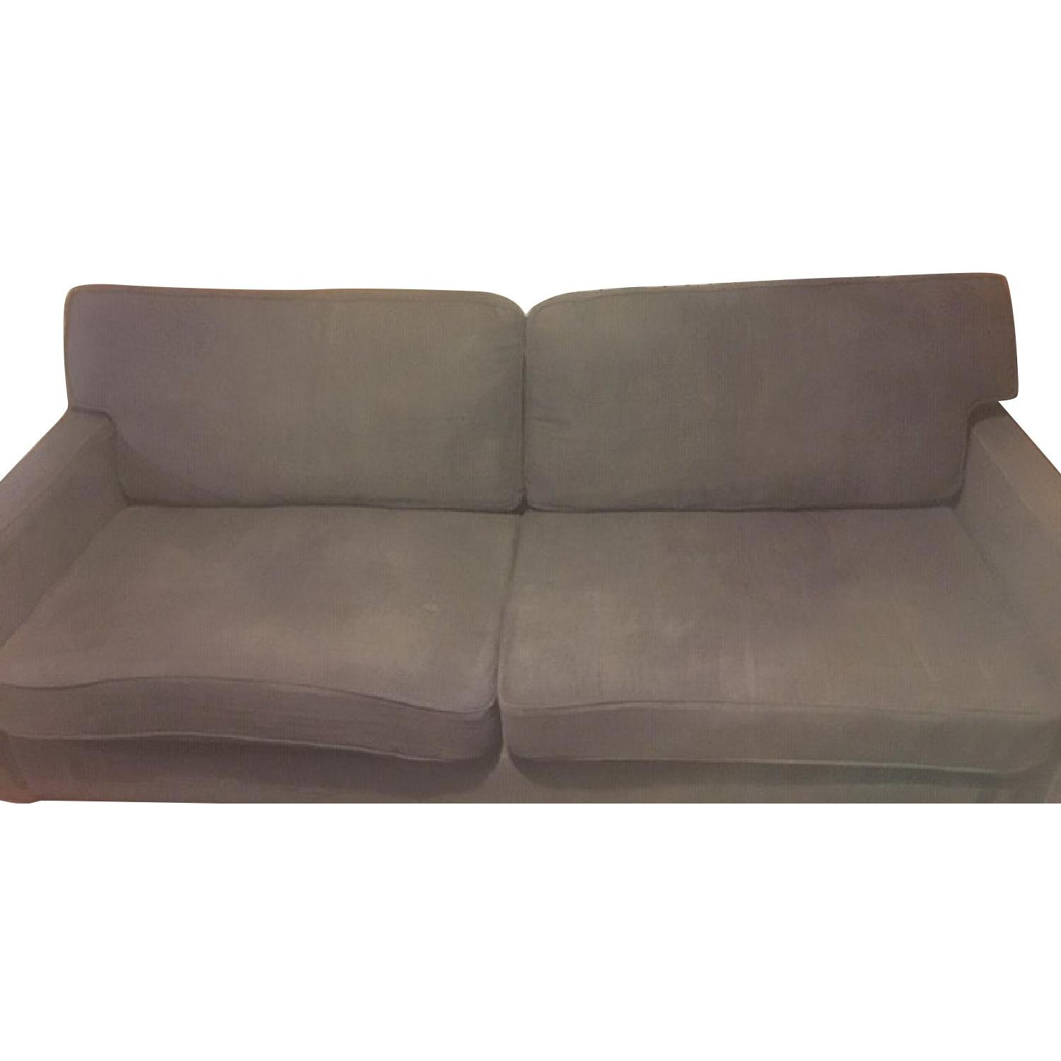 Viscount William Sofa in Grey Linen