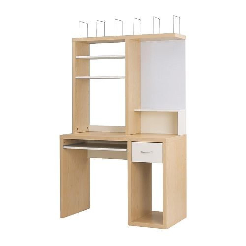Ikea Mikael Desk w/ Hutch