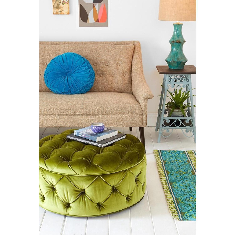Magnificent Plum Bow Ava Large Olive Green Storage Ottoman Aptdeco Short Links Chair Design For Home Short Linksinfo