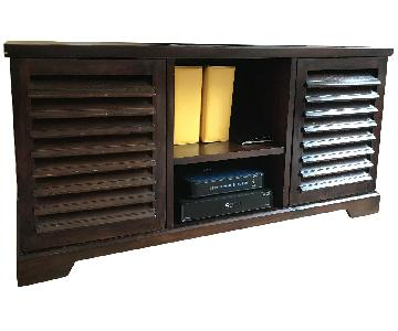 Dark Brown Credenza/Media Console