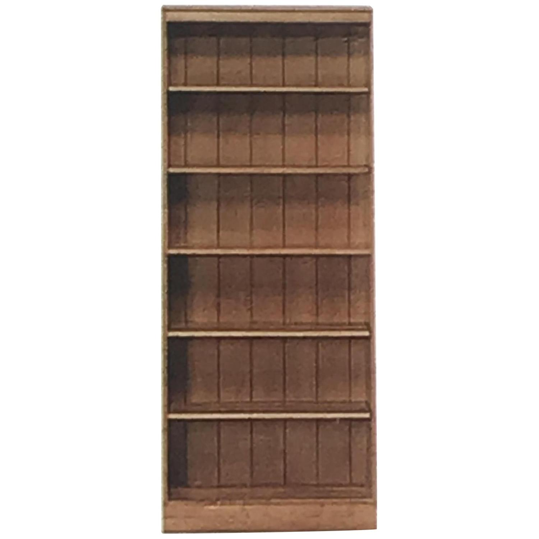 Ethan Allen Wood Bookcase w/ Adjustable Shelves