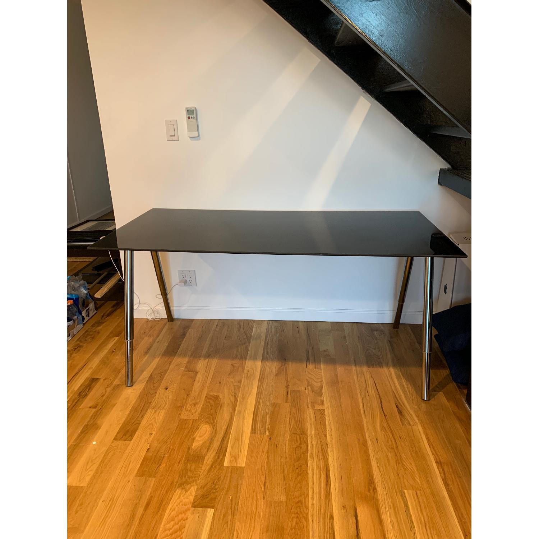 Ikea Galant Glass Top Desk Aptdeco