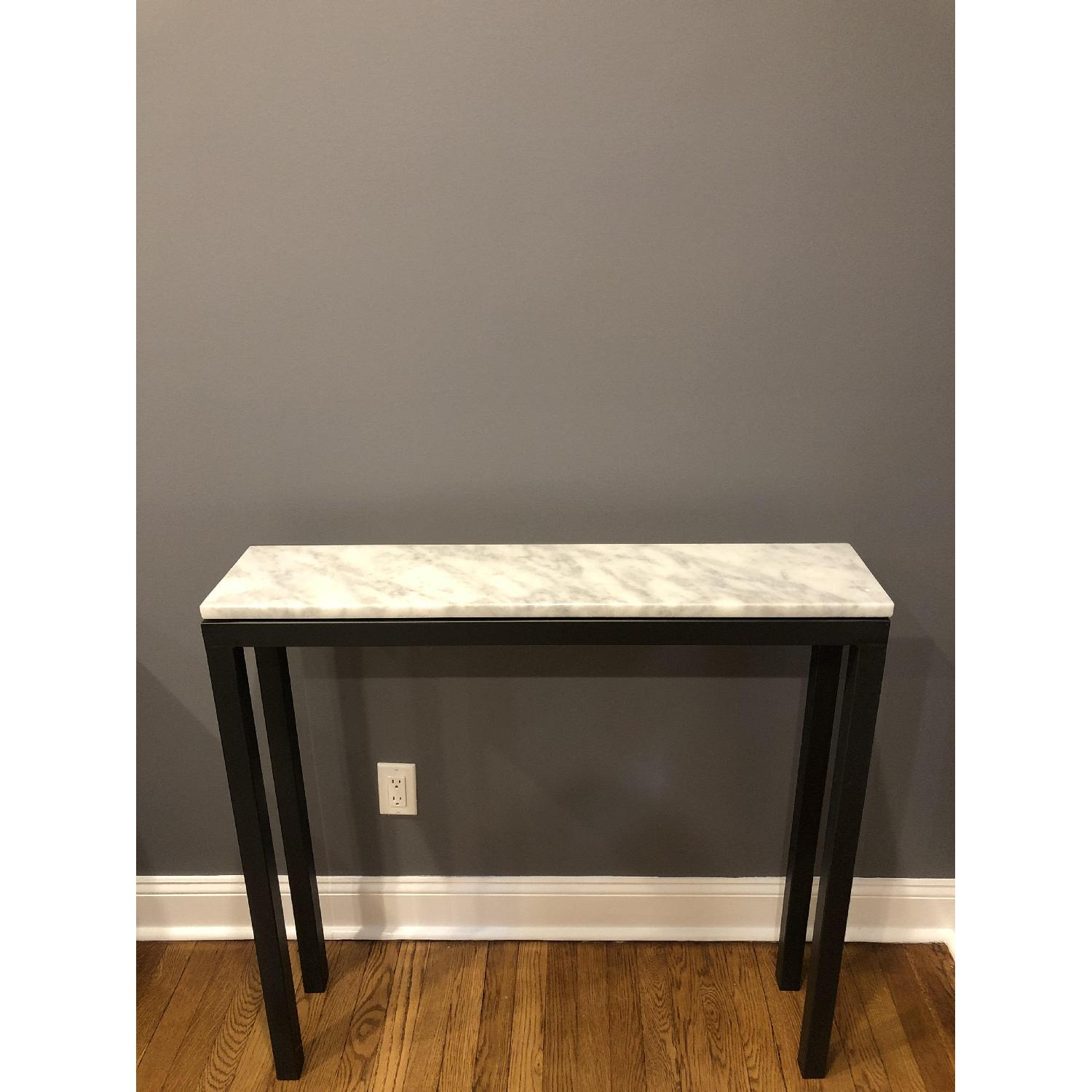 Room & Board Marble Top Console Table - image-2
