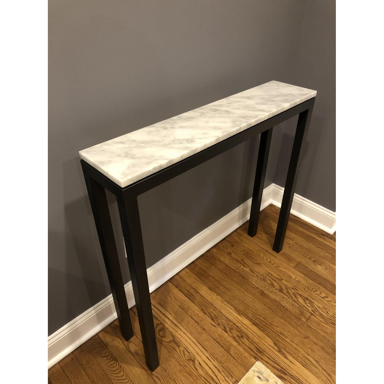 Room & Board Marble Top Console Table - image-3