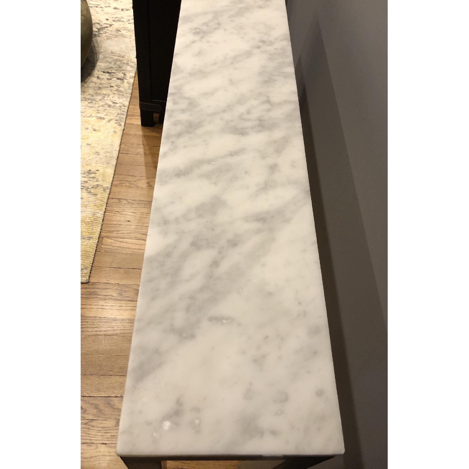 Room & Board Marble Top Console Table - image-4