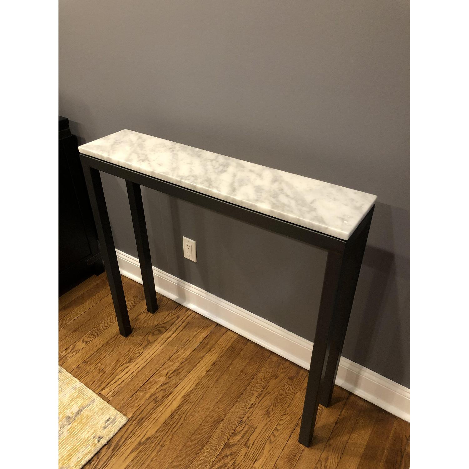 Room & Board Marble Top Console Table - image-5