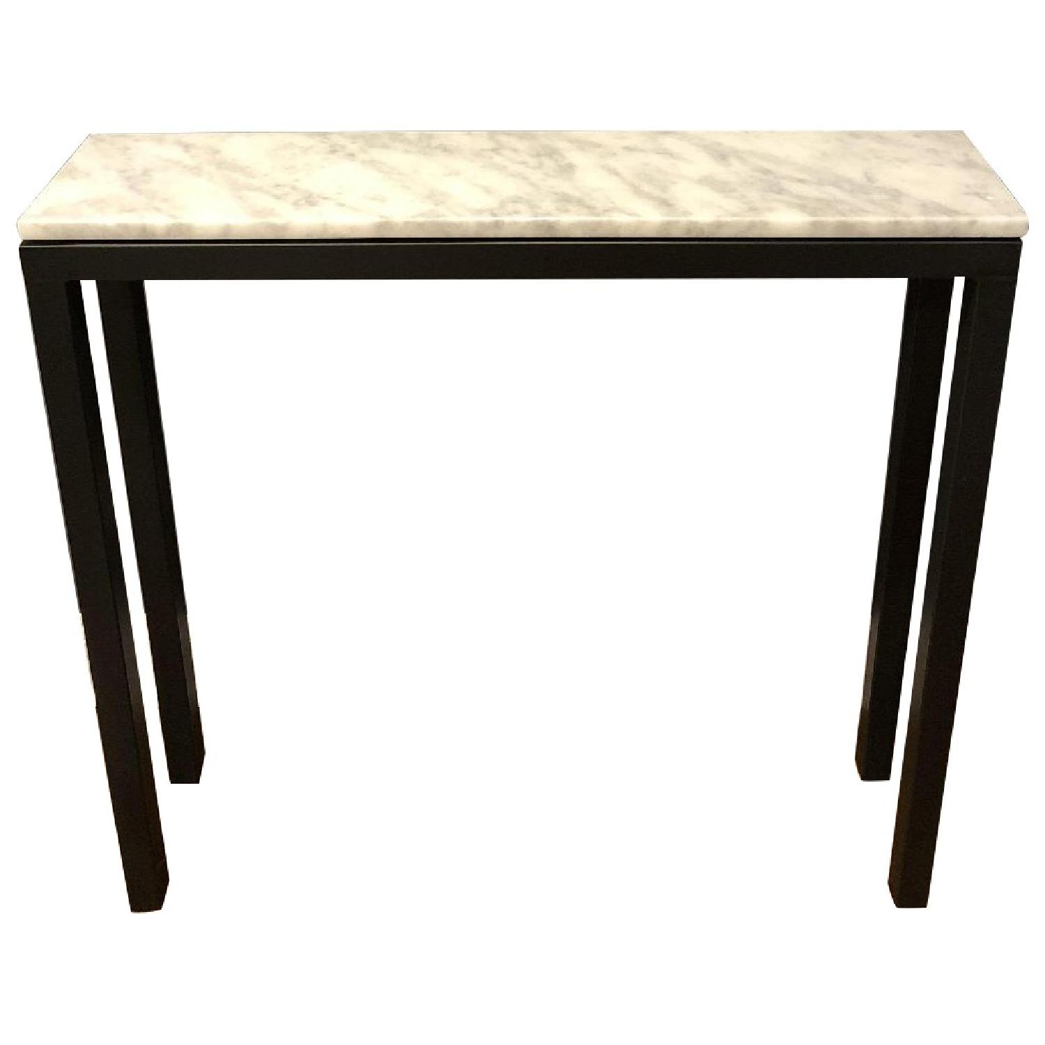 Room & Board Marble Top Console Table - image-0