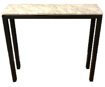Room & Board Marble Top Console Table