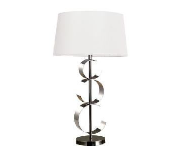 Dimond Lighting Black Chrome Table Lamps