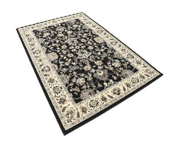 Astoria Grand Turkish Black Area Rug