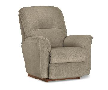La-Z-Boy Gray Rocker Recliner
