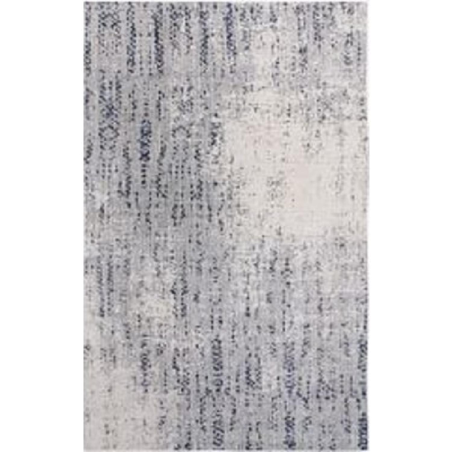 West Elm Distressed Foliage Rug