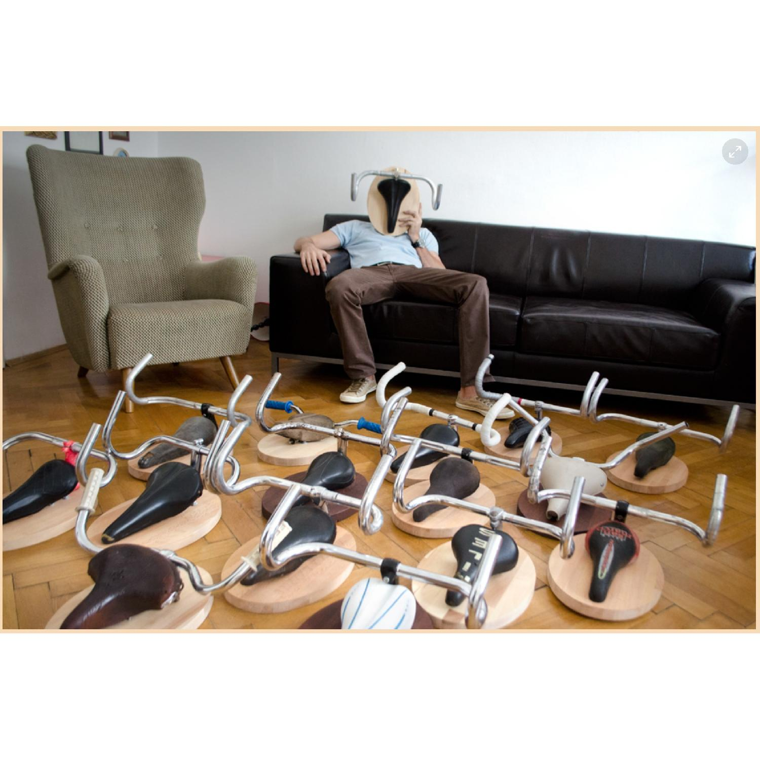 Andreas Schieger Euro Wall Art Bicycle Hangers - image-2