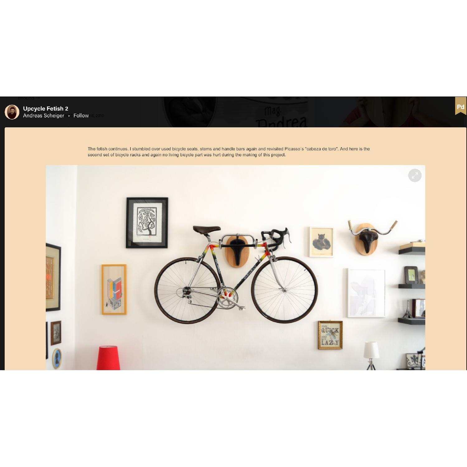 Andreas Schieger Euro Wall Art Bicycle Hangers - image-3