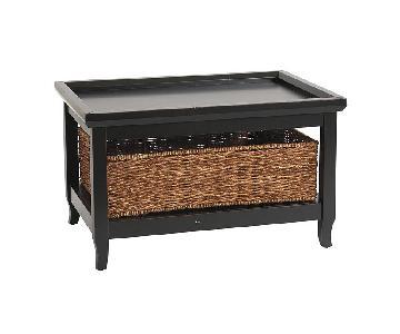 Ballard Designs Morgan Coffee Table in Black
