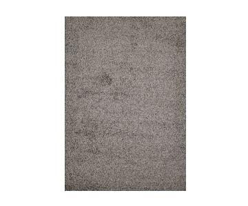 Homedora Grey Shaggy Area Rug