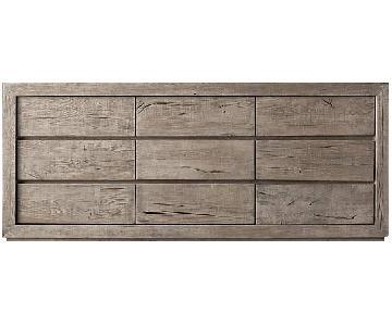 Restoration Hardware Reclaimed Russian Oak 9-Drawer Dresser