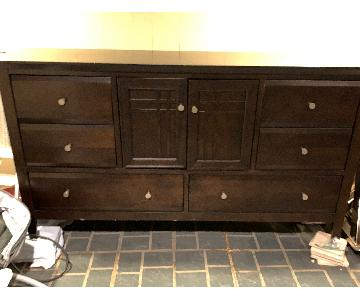 Raymour & Flanigan Wood Dresser