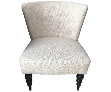 West Elm Slipper Accent Chairs