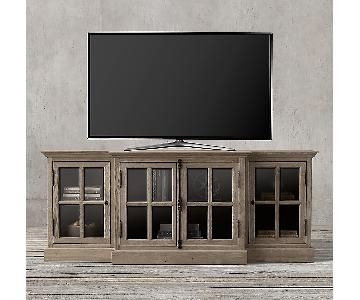 Restoration Hardware French Casement Media Console