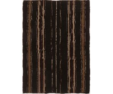 Transitional All Over Geometric Black/Brown/Tan & Cream