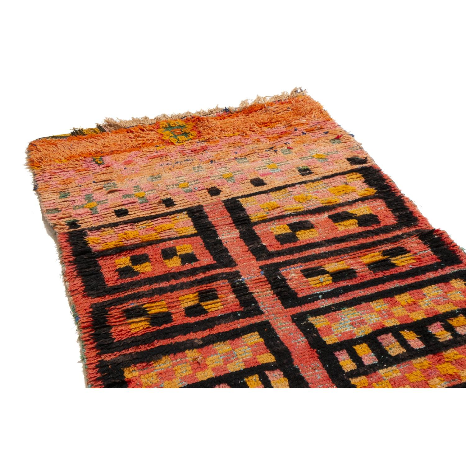 Radiant Transitional Moroccan Geometric Rug-0