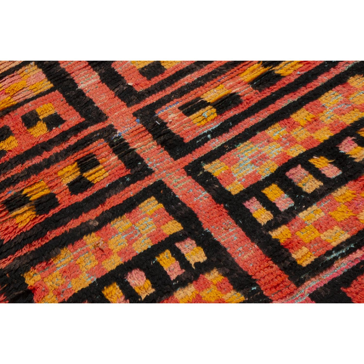 Radiant Transitional Moroccan Geometric Rug-1