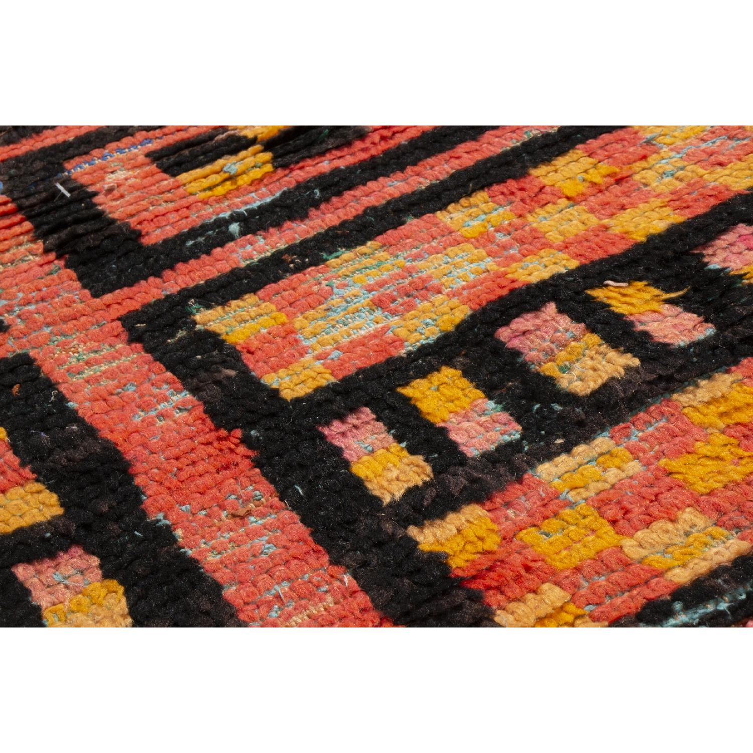 Radiant Transitional Moroccan Geometric Rug