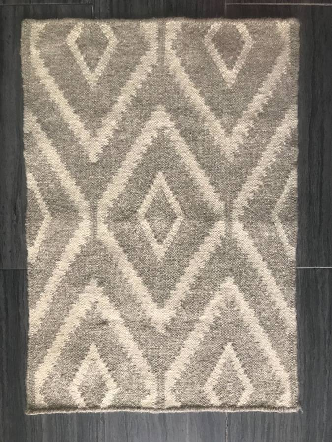 West Elm Kite Wool Kilim Rug