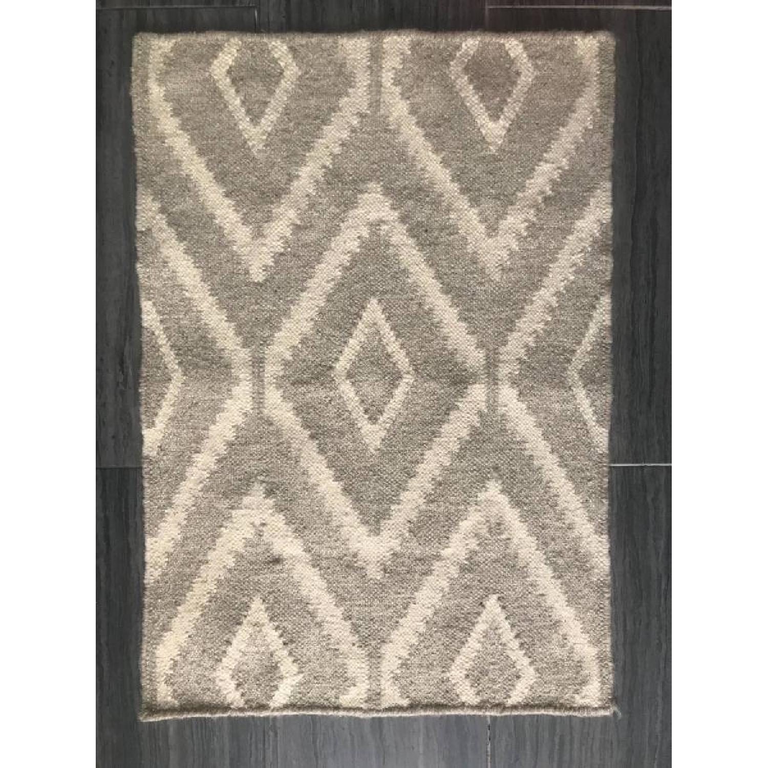 West Elm Kite Wool Kilim Rug-1