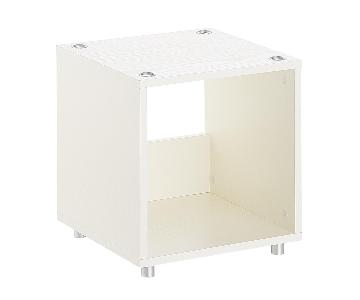 Container Store Vario Stackable Cubby Shelves