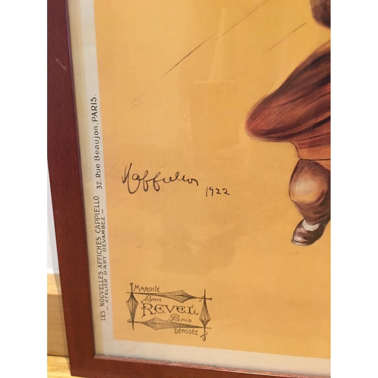 Vintage 1922 by Leonetto Cappiello Framed Parapluie-Revel - image-3