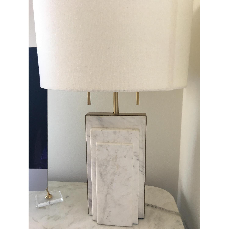 West Elm Deco Marble Table Lamp Aptdeco