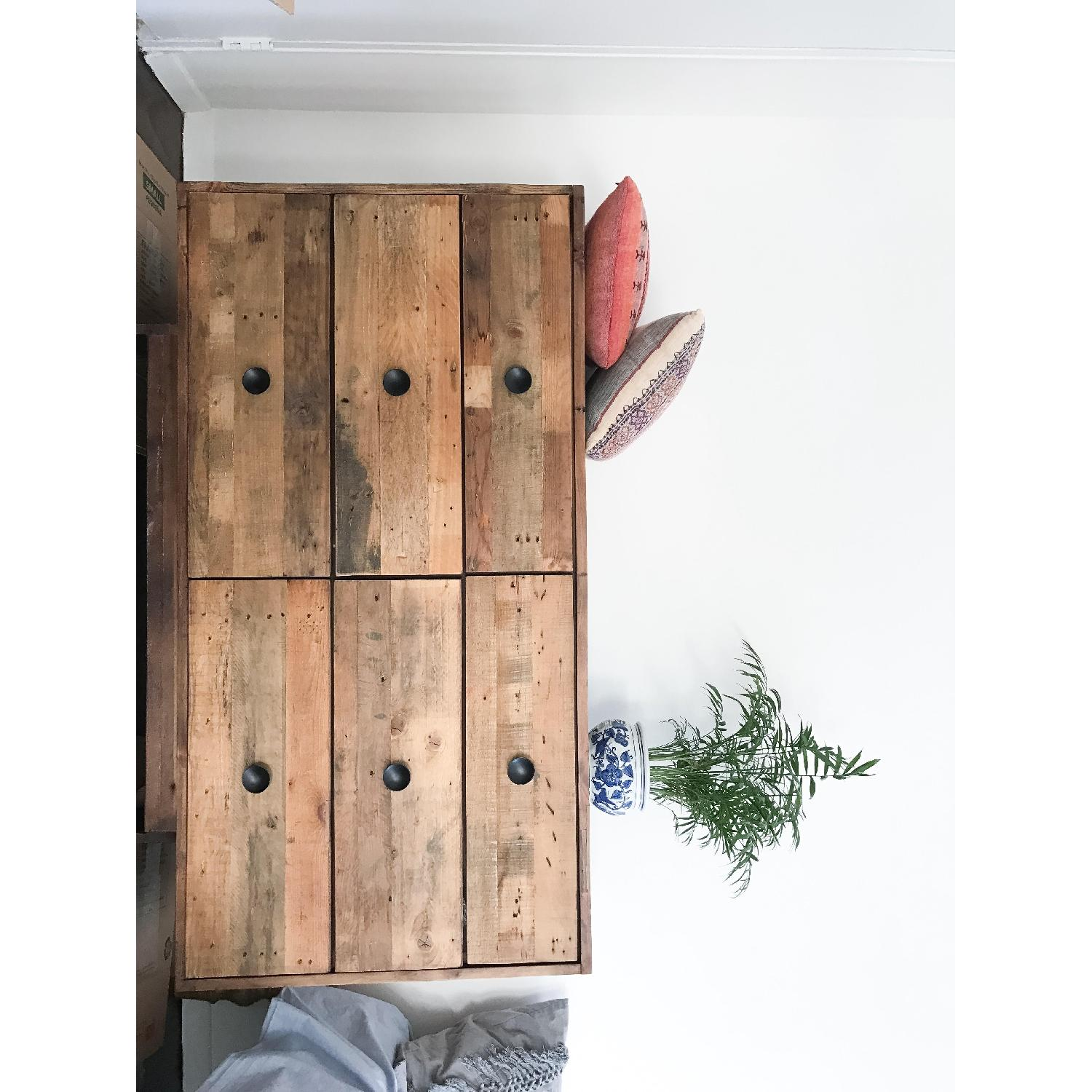 Reclaimed Wood Nightstand West Elm The Best 28 Images Of Teal Photo Collection