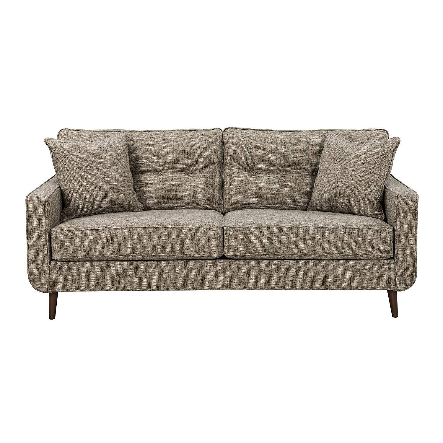 Ashley Chento Jute Sofa in Beige/Natural - image-1