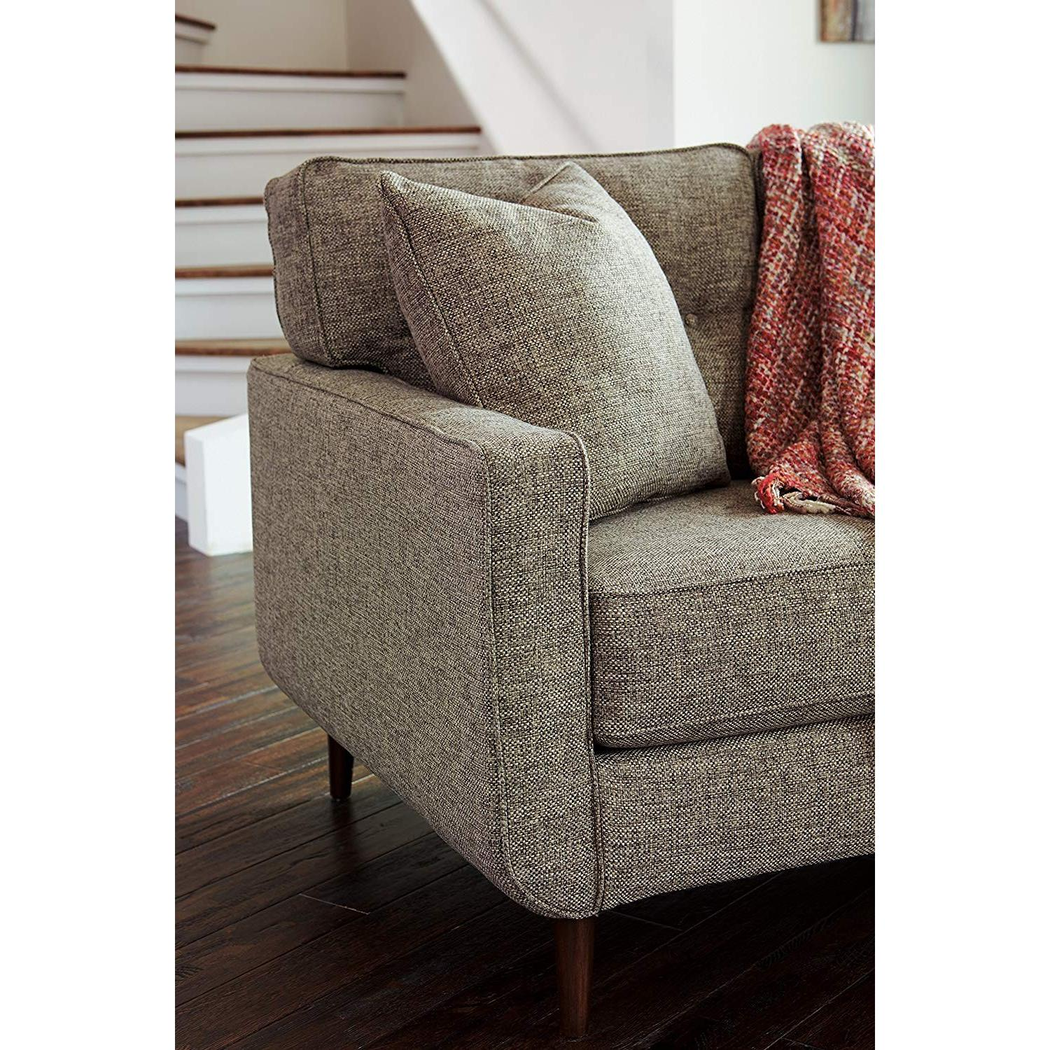 Ashley Chento Jute Sofa in Beige/Natural - image-2