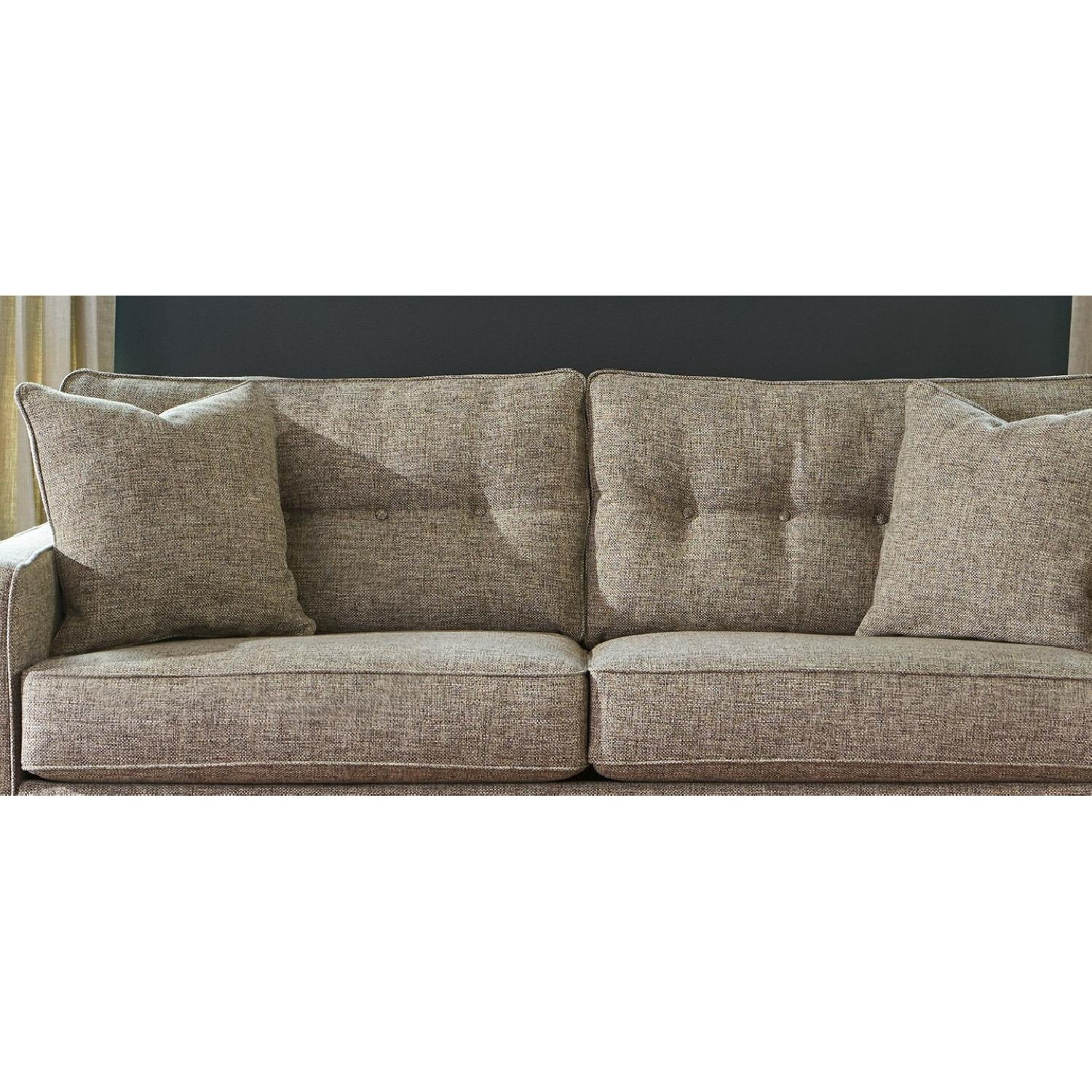 Ashley Chento Jute Sofa in Beige/Natural - image-4