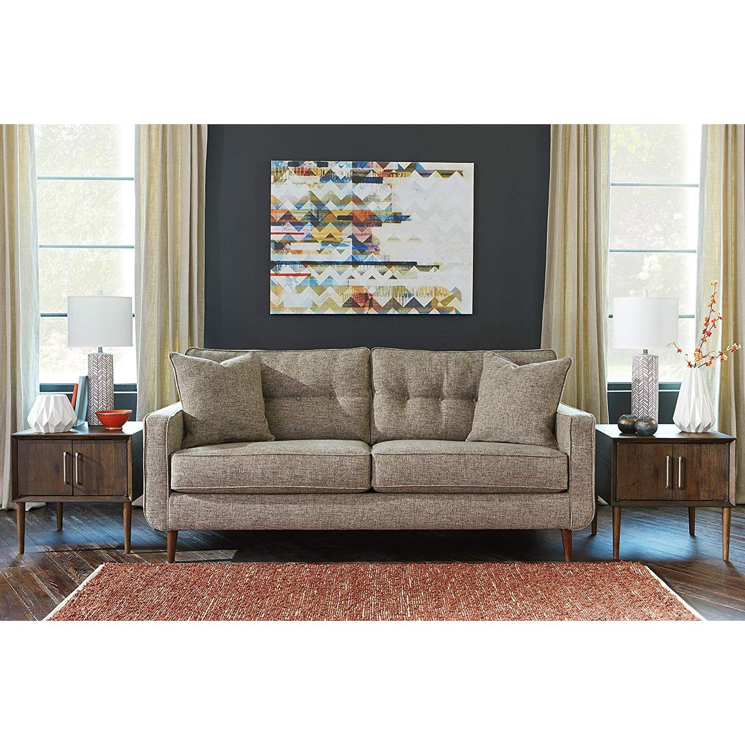 Ashley Chento Jute Sofa in Beige/Natural - image-5