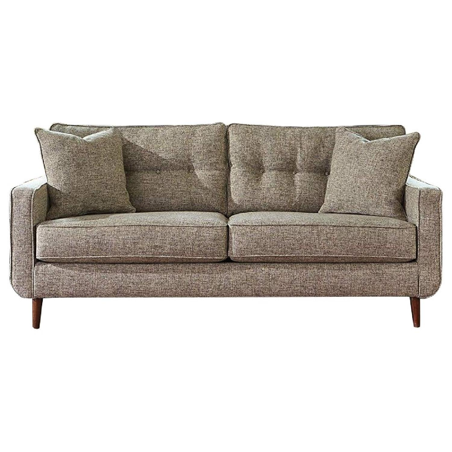 Ashley Chento Jute Sofa in Beige/Natural - image-0