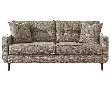 Ashley Chento Jute Sofa in Beige/Natural