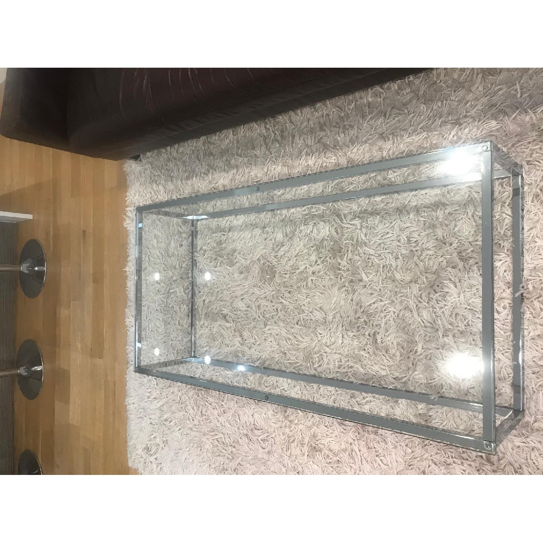 CB2 Smart Glass Coffee Table - image-1